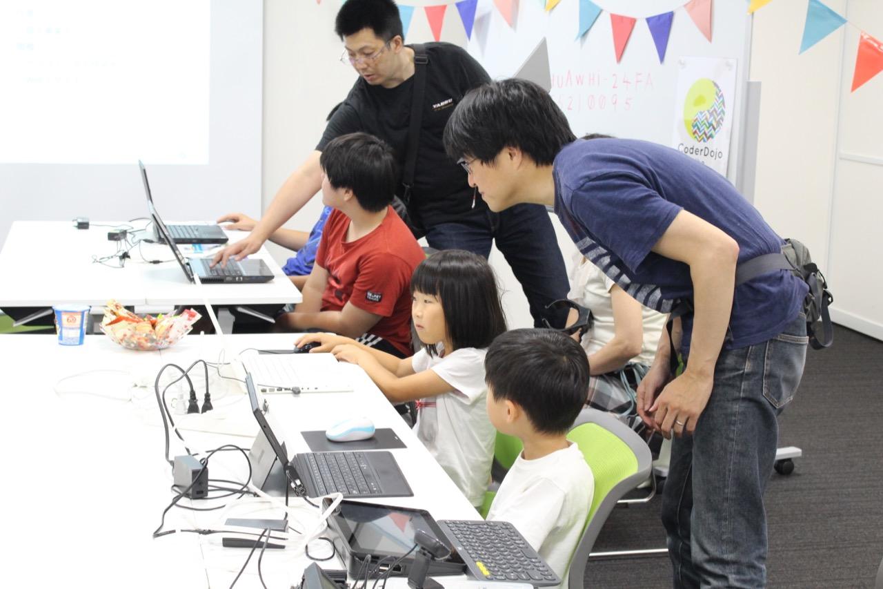 第5回CoderDojo Ube(宇部市のプログラミング道場)大人も子供といっしょに学びます